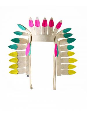 Indian Headdress Multicoloured