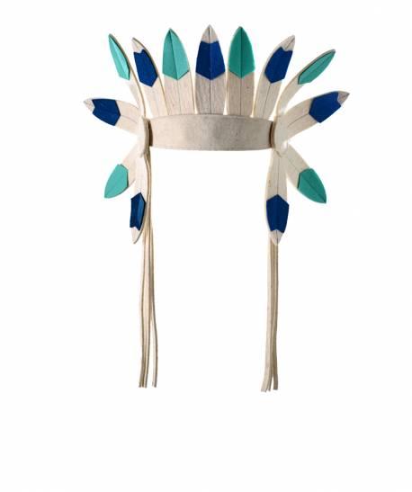 Corona Azul-Verde