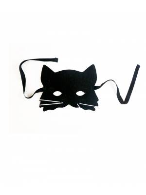 Cat Black Mask