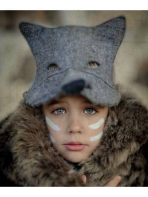 Grey Wolf Mask