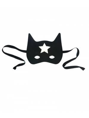 Máscara de Superheroe Negra