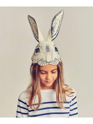 Máscara conejo negra